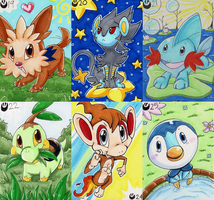Pokemon Art Cards - Batch 4 by Nestly
