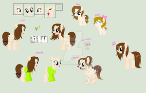 Ponified Livia Official Reference Guide by Azure-Art-Wave