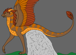 Cleo the Chaos Feathered Serpent by SassyDragon18