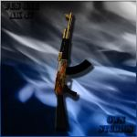 Golden Dragon Ak47 for CS 1.6 by CraftC