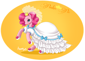Pinkie Pie the Bride by Amenoo