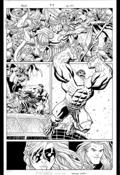 Hulk issue 9 page 1 by WaldenWong