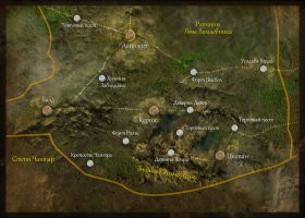 Map of Hothills Location by Keleus