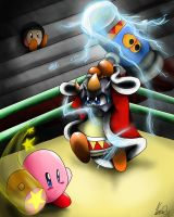 Kirby vs Masked Dedede by Vanni2u