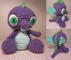 Amigurumi Spike MLP by Oni4219