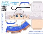 jack frost papercraft paper toy by Richmen