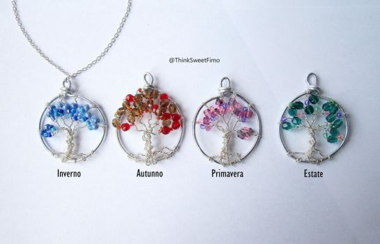 Tree of life pendants by ThinkSweet