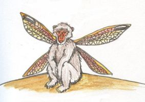 Fairy Macaque by SkyWookiee