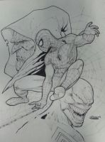 spiderman by Sajad126
