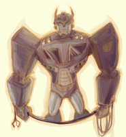 Transformers Animated SG!Optimus Prime by CarnivorousTwinkie