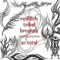 redLillith tribals by rL-Brushes