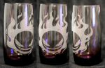 -Etsy- Purple Laser Engraved Gastly Glass by Nortiker