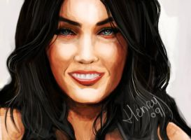 Megan Fox by Hasuf3ll