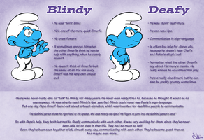 Blindy and Deafy sheet by Shini-Smurf