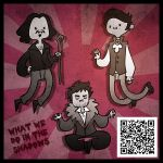 What time is it? What We Do In The Shadows Time! by mct421