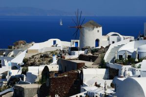 Santorini III by papadimitriou