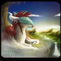 Happy Birthday Floari by Black-Wing24