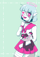 Just other cute zombie by Lizally
