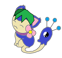 Me As A Skitty Base Made By MidnightFlaze by Metylover2143