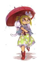 Hariette In The Rain by frizz-bee