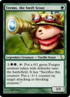 MtG - Teemo, the Swift Scout by soy-monk
