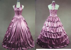 Pink Victorian Corset Dress by Sausage69