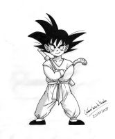 Young Son Goku by GustavoMorales