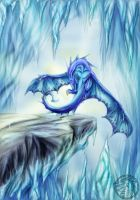 Ice dragon by Luarcis