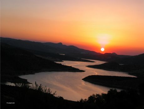 Sunset Spain by Usayd