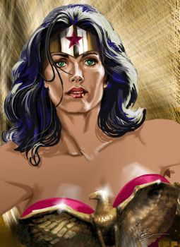 Wonder Woman by Adobewan