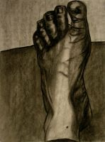 the Oft Overlooked Foot by golddew