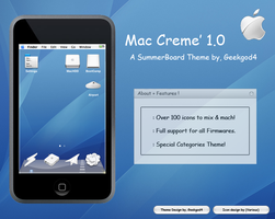 Mac Creme 1.0 for Ipod touch by GeekGod4