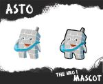 Asto the nro 1 mascot by titta