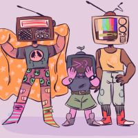 Me and my Pals by Pixiepann