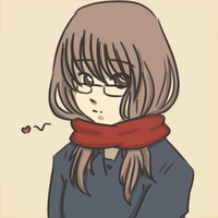 Some Random girl with glasses by pferty