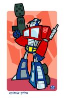 Optimus Prime by Montygog