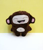 Laughing Monkey by DarkRaven17