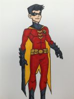 Red Robin First costume by DaJam22