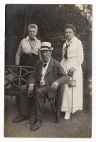 Vintage photo - family with grandpa by OMEGA86
