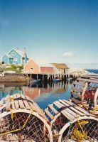 Small Fishing Village by lauricedeephd