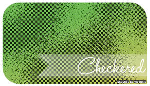 Checkered Brushes by vintagevic