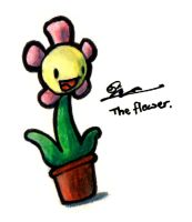The Flower by Boojamon