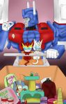 Ultra Magnus and his Kitties 02 by PurrV