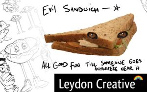 Evil Sandwich Wallpaper by theblastedfrench