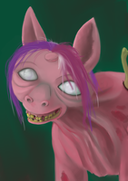 MLP Fallout: Ghoul Alicorn by littlebuster-k2