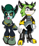 Sonic Channel: CASSIA and CLOVE by WaniRamirez