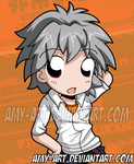 Evangelion - Kaworu by amy-art