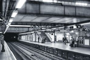 Liverpool Street Station by Pajunen