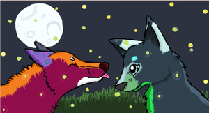 iScribble with Ronniee :D by Hawkheart1