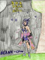 AYANE-Chan from doa and ninja gaiden by AndrewGeorge1991